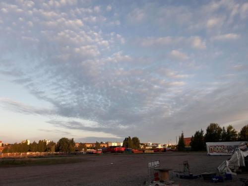 Kuinka pilviä muodostuu